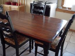 Black Wood Kitchen Table Kitchen Table Finish Wood Best Kitchen Ideas 2017