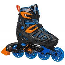 Roller Derby Boy S Tracer Adjustable Inline Skate Size Chart Roller Derby Tracer Boy Adjustable I149b