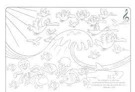 Creation Coloring Sheets Preschool School Coloring Pages School