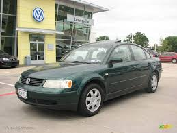 2000 Bright Green Metallic Volkswagen Passat GLS V6 Sedan #9635031 ...