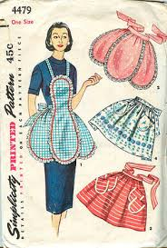 Vintage Apron Patterns Inspiration Barrientez Blog Vintage Apron Patterns