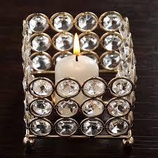 Beaded Tea Light Candle Holders