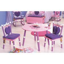 Always a Princess Table and Chair Set A Luxury Kid Furnishings