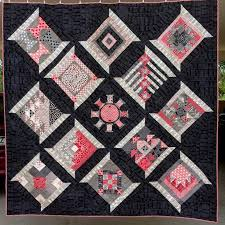 286 best Sampler Quilts images on Pinterest | Calendar, Children ... & December marked the last month of a fabulous year of blocks from the  Aurifil Designer BOM To finish the quilt I framed each block in a spool and  set them on ... Adamdwight.com