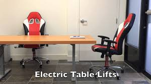 how to build an adjule motorized sit stand ergonomic office desk