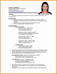 Call Center Resume Sample Call Center Resume Sample Beautiful 100 Sample Resume In Philippines 96