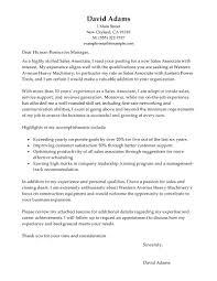 Sales Associate Cover Letter Tomyumtumweb Com