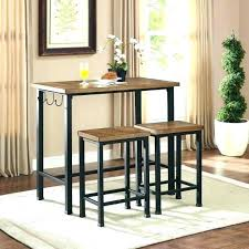 small bistro table set pub style