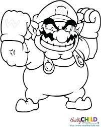 Super Mario Bros Coloring Pages Printables And Coloring Sheets Super