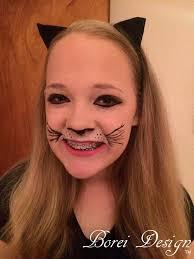 diy cat makeup