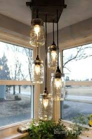 Image Pottery Barn Want To Make One Of These So Bad Mason Jar Light Fixture Mason Jar Pinterest Best Hanging Mason Jar Lights Images Hanging Mason Jar Lights