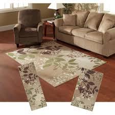 luxury 3 piece area rug set 50 photos home improvement