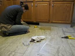 replacing kitchen floor tile