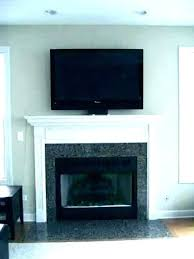 contemporary mounting tv over fireplace how to mount over fireplace and hide wires above fireplace hiding