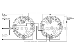 4 wire relay output function conventional smoke detector from system sensor smoke detector wiring diagram at Conventional Smoke Detector Wiring Diagram