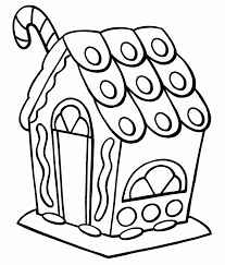 Small Picture Gingerbread house coloring pages for preschooler ColoringStar