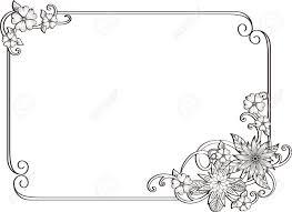 corner gold page decoration decorative frame fl elements set of corners and borders