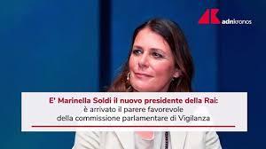 Rai, sì Vigilanza a Marinella Soldi presidente - video Dailymotion
