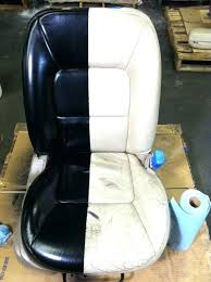 how to paint leather seats spray car give your worn tired a makeover can you remove how to paint leather