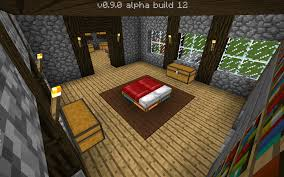 Minecraft Pe Bedroom Simple Cobble House Decorated And Made By Me A Map Requested By
