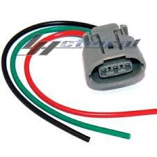 100% new alternator repair plug harness 3 wire pin pigtail for image is loading 100 new alternator repair plug harness 3 wire