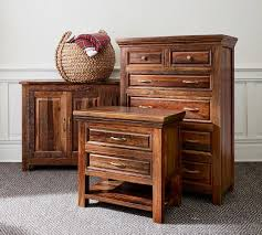 reclaimed wood nightstand. Bowry Reclaimed Wood Nightstand E