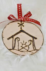 materials for diy wood burned ornaments