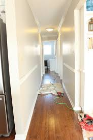 hallway finally. Creating A Board And Batten Hallway Like This One Is Simple Step-by- Finally I