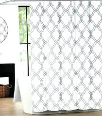 white and gray chevron curtains a home cotton shower curtain tile silver gray and white grey