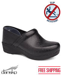 additional views dansko pro xp 2 0 black fl tooled leather clogs