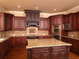 Modern Cherry Wood Kitchen Cabinets 25 Kitchens Ideas On Pinterest With Creativity Design