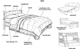 bed definition for english age
