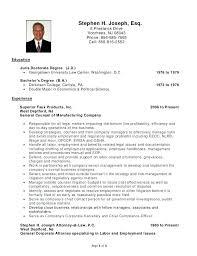 Biglaw Associate Resume A Good Resume Example