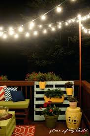 How To Hang Outdoor String Lights Gorgeous Deck String Lights Patio Outdoor String Lights 60 Deck String Lights