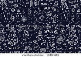 Space Pattern Extraordinary Free Space Pattern Vector Download Free Vector Art Stock Graphics
