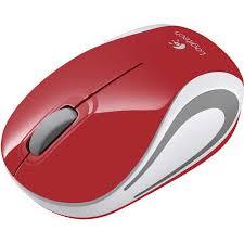 <b>Logitech Wireless</b> Red <b>Mini Mouse</b> M187 | BIG W
