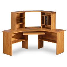 image of modern computer desk corner