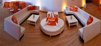 Lounge furniture event rental in Los Angeles Orange County