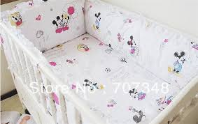 mickey mouse minnie infant bedding baby crib bedclothes latest sheets present 8