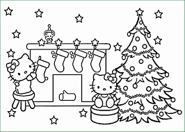 Christmas Coloring Book Pages Lovely 20 Free Printable Hello Kitty