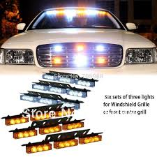 Snow Plow Emergency Lights Us 23 32 22 Off White Amber Green Blue 6x9 Led Snow Plow Car Boat Truck Warning Emergency Strobe Lights Indicator Grill Fog Lamps Warning Lights In