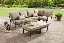 outdoor sectional metal.  Outdoor 7 Pcs Outdoor Sectional Sofa Set Metal Backyard Garden Patio Furniture 5  Seater For