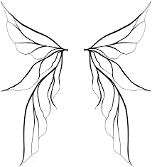 Tinkerbell Wings Clipart Great Free Clipart Silhouette Coloring