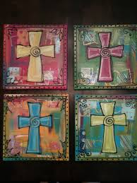 cross paintings on canvas bing images