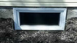 residential services basement window cut