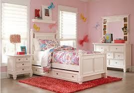 white bedroom furniture for girls. Contemporary Bedroom Belmar White 5 Pc Full Poster Bedroom On Furniture For Girls