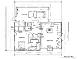 Plan 40497WM Split Bedroom Small House Plan  Cottage House Small 4 Bedroom House Plans