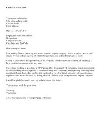 Retail Job Cover Letter Sample Retail Cashier Cover Letter Sample