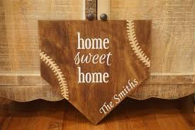 Size Of Home Plate Full Size Home Plate Home Sweet Home Baseball Plate Personalized
