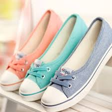 New <b>Spring Summer Flat</b> Canvas Casual Shoes Breathable New ...